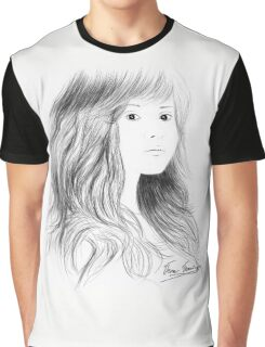 Cloud of Hair Graphic T-Shirt