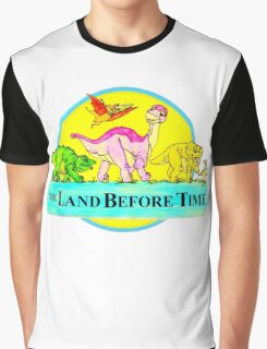 The Land Before Time Graphic T-Shirt