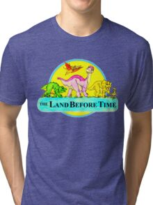 The Land Before Time Tri-blend T-Shirt
