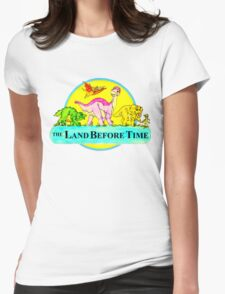 The Land Before Time Womens Fitted T-Shirt