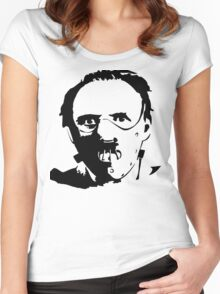 Hannibal Lecter-Hopkins Women's Fitted Scoop T-Shirt