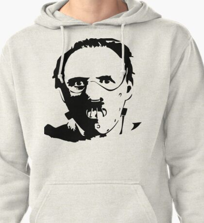 Hannibal Lecter-Hopkins Pullover Hoodie