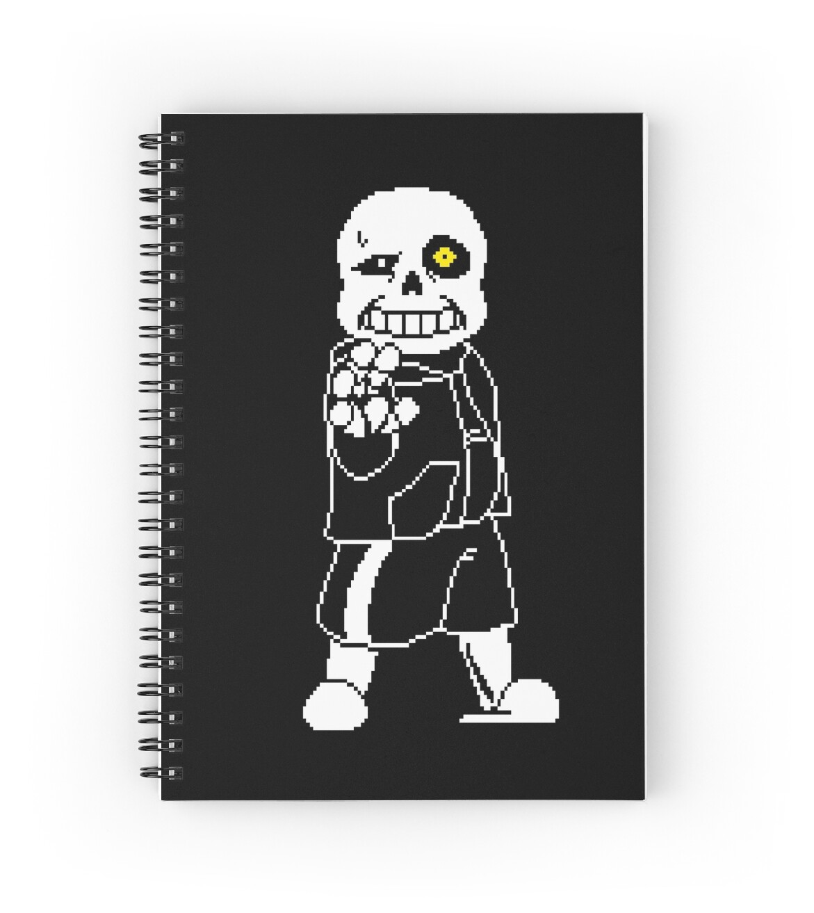 undertale sans after battle fan art spiral notebooks by tim schnapperelle redbubble. Black Bedroom Furniture Sets. Home Design Ideas