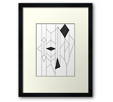 Geo- Linear Collection Framed Print
