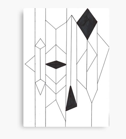 Geo- Linear Collection Canvas Print