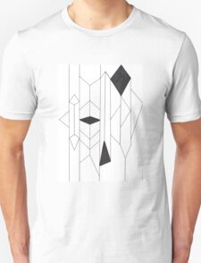 Geo- Linear Collection Unisex T-Shirt
