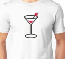 Martini cocktail glass Unisex T-Shirt