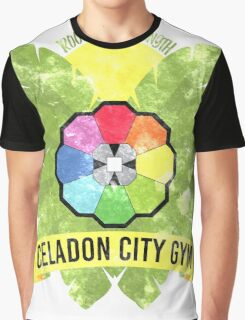 Celadon City Gym Graphic T-Shirt