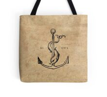 Festina Lente - Aldus Manutius Printer's Mark Tote Bag