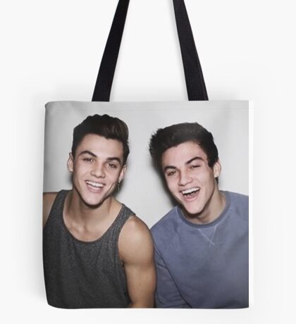 Dolan Twins smileing Tote Bag