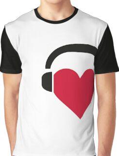 I love music! Graphic T-Shirt