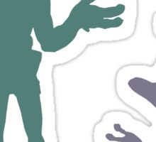 """I dunno"" - Oddworld Abe & Munch Sticker"