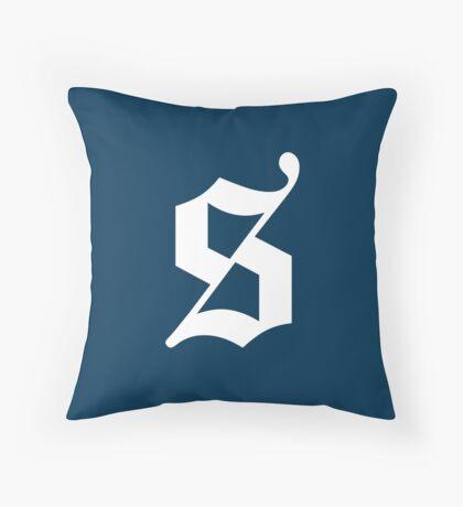 The Sexy Codicology Logo Throw Pillow