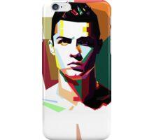 WPAP RONALDO iPhone Case/Skin