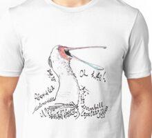 African spoonbill, Lepelaar Unisex T-Shirt