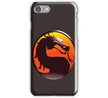 MORTAL KOMBAT PIXEL LOGO iPhone Case/Skin