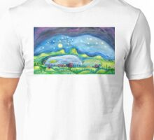Norcal landscape v.1 (large, rectangular image) Unisex T-Shirt
