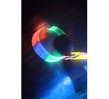 A Circle Of Light Photographic Print