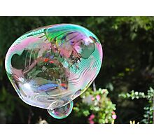 Crazy Wild Bubble - As Is !!! Photographic Print