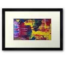 blood, sweat and tears!  Framed Print