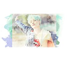 Suga green and blue Photographic Print