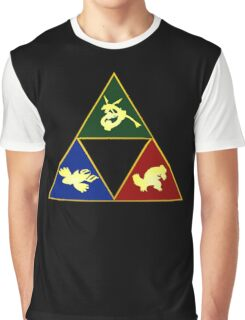 Hoenn's Legendary Triforce Graphic T-Shirt