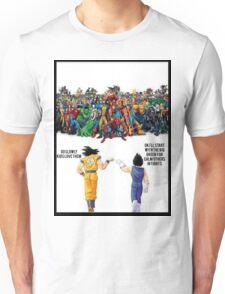 DBZ   Super heroes  Unisex T-Shirt