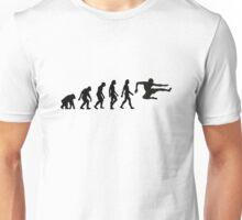 The Evolution of Karate Unisex T-Shirt