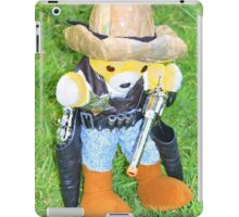 There's a new sheriff in town iPad Case/Skin
