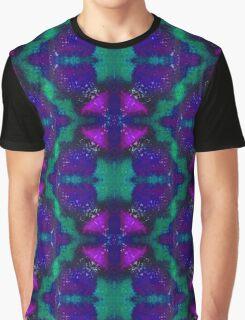 Kaleidoscope Dreams - Teal/Pink Graphic T-Shirt