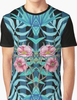 Tropical Nostalgia Mirror Graphic T-Shirt