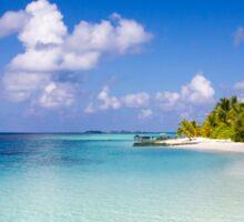 Maldives, Kuramathi island Sticker