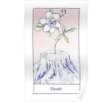 The Death Card from the BirdQueen Tarot Poster