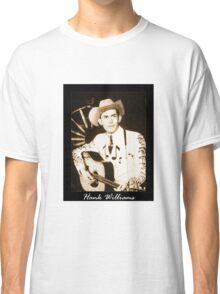 Hank Williams & His Guitar Classic T-Shirt