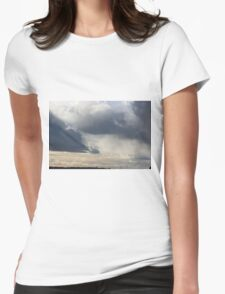 Ominous Womens Fitted T-Shirt