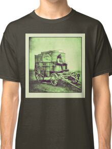 Antique photo Wild West Photographer and his van Classic T-Shirt