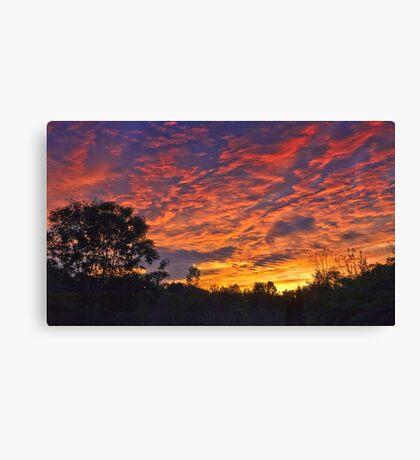 """Burning Sky"" Canvas Print"