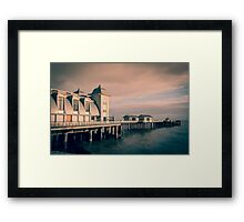 Penarth Pier, South Wales Framed Print