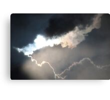 Cloud Refractions Canvas Print