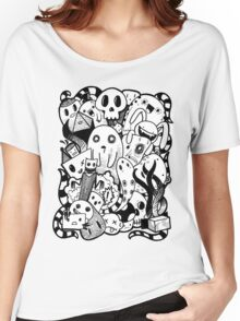 Little Doodle Monsters #1 Women's Relaxed Fit T-Shirt