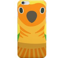 Sun Conure Nesting Doll iPhone Case/Skin