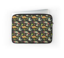 Eat Your Veggies in Brights Laptop Sleeve