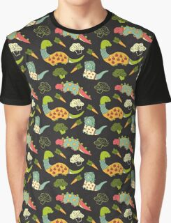 Eat Your Veggies in Brights Graphic T-Shirt