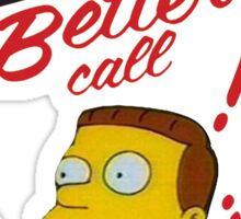 better call leonel hutz Sticker