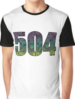 504 Doodle Graphic T-Shirt