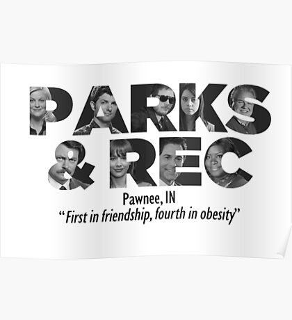 Parks and Recreation Poster