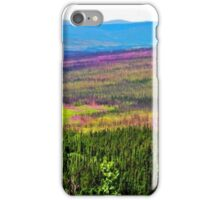 Acres of Fire Weed in Alaska iPhone Case/Skin