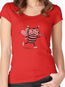 Beesdich Women's Fitted Scoop T-Shirt