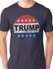 Vintage Vote Trump 2016 Button Shirt Unisex T-Shirt