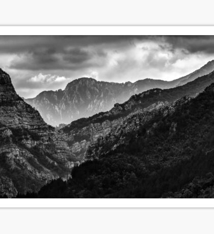 Mountains of Bosna Sticker
